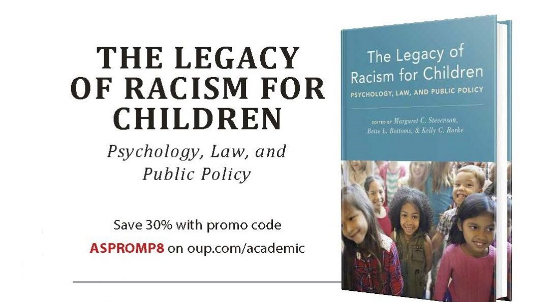 Coupon code for The Legacy of Racism for Children. Save 30% with code ASPROMPS